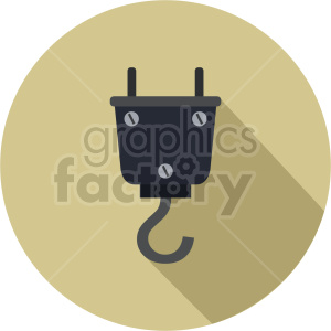 crane hook vector graphic clipart 2 clipart. Commercial use image # 413635
