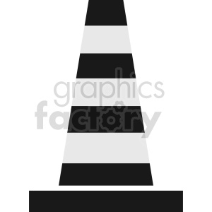 construction cone graphic clipart 6