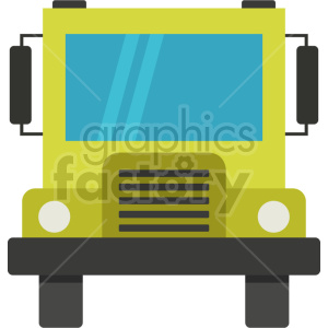 school bus vector icon graphic clipart no background 2 clipart. Commercial use image # 413656
