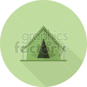 camping tent vector graphic clipart 1 clipart. Commercial use image # 413687