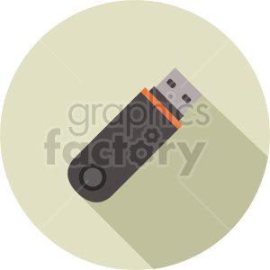 usb drive vector graphic clipart 2 clipart. Commercial use image # 413716