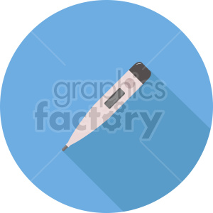 thermometer vector icon graphic clipart 1