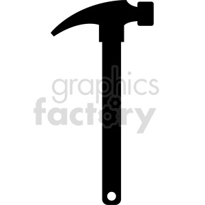 hammer vector icon graphic clipart 21 clipart. Commercial use image # 413892