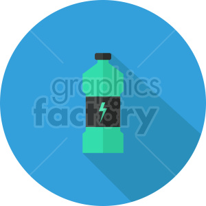 isometric energy drink vector icon clipart 1