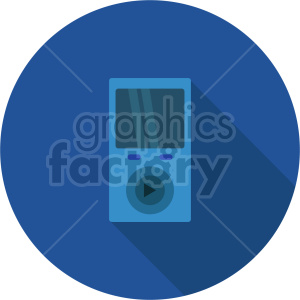 isometric music player vector icon clipart 1 clipart. Commercial use image # 414101