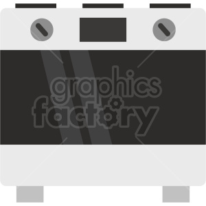 isometric oven vector icon clipart 1 clipart. Commercial use image # 414256