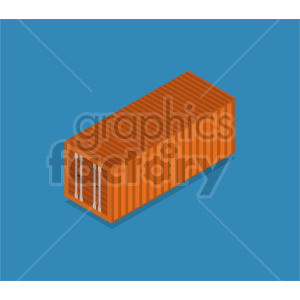 isometric storage container  vector icon clipart 2 clipart. Commercial use image # 414408