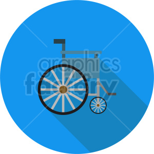 wheelchair vector icon clipart 1 clipart. Commercial use image # 414441