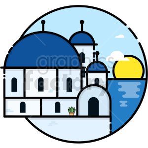 greece vector clipart icon clipart. Commercial use image # 414733