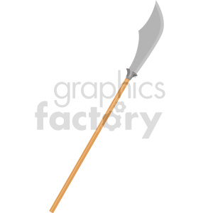 sword spear weapon vector clipart clipart. Commercial use image # 414828