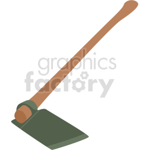 garden hoe vector clipart clipart. Commercial use image # 414839