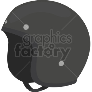 vintage motorcycle helmet vector clipart clipart. Commercial use image # 414896