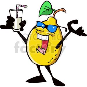 cartoon hello lemon clipart clipart. Commercial use image # 414982