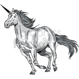 unicorn clipart clipart. Commercial use image # 415046