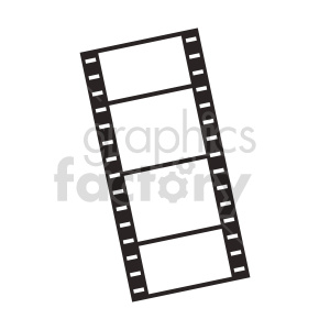 film strip vector clipart. Commercial use image # 415255
