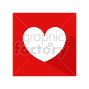 clipart - heart symbol vector clipart.
