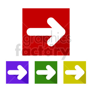 thin arrow icon vector clipart clipart. Commercial use image # 415525