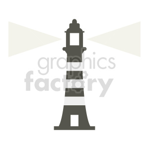 lighthouse vector graphic design clipart. Commercial use image # 415673