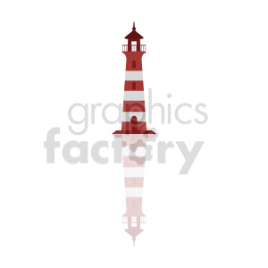 lighthouse vector graphic clipart. Commercial use image # 415700