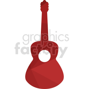 guitar vector design clipart. Commercial use image # 415741