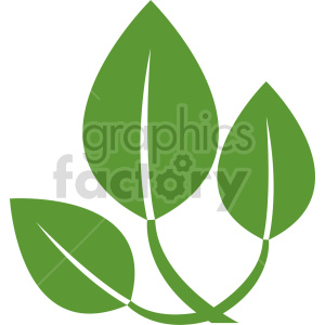 plant branch vector clipart clipart. Commercial use image # 415799