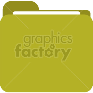 folder icon clipart. Commercial use image # 415910