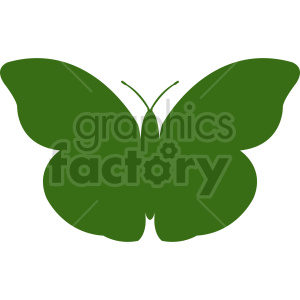 butterfly silhouette vector clipart 02 clipart. Commercial use image # 415920