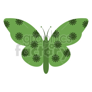 butterfly vector clipart 04 clipart. Commercial use image # 415950