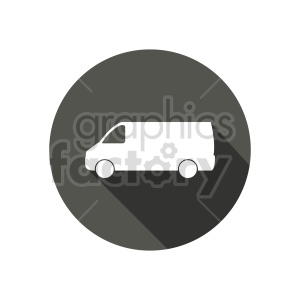 van vector icon clipart. Commercial use image # 416013