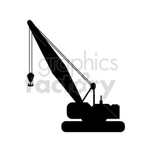crawler crane vector clipart clipart. Commercial use image # 416018