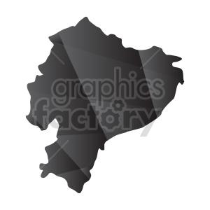 ecuador geometric vector design clipart. Commercial use image # 416053