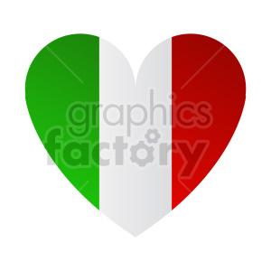 Italian love vector clipart