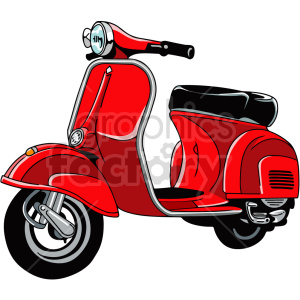 vespa scooter vector clipart clipart. Commercial use image # 416197