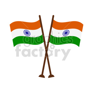 indian flag vector graphic