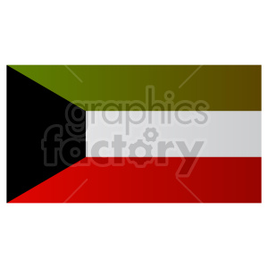 kuwait flag clipart clipart. Commercial use image # 416318