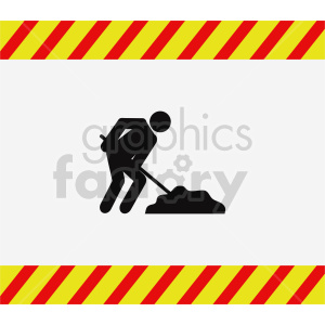 work in progress vector clipart clipart. Commercial use image # 416346
