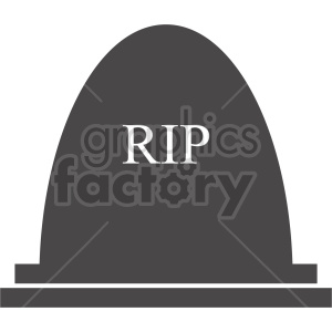 clipart - rip tombstone graphic.
