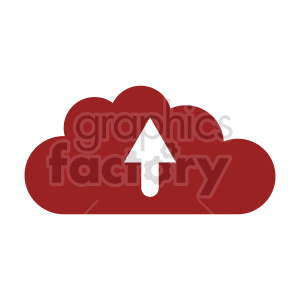 upload cloud vector icon clipart. Commercial use image # 416392