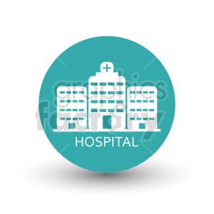 clipart - hospital vector icon.