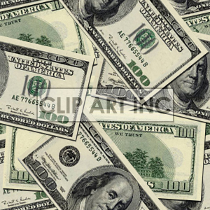 Money tiled background for Web site clipart. Commercial use image # 128134