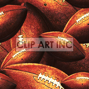 Football tiled background clipart. Royalty-free image # 128144