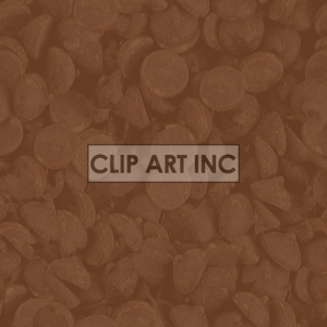 chocolate chip background clipart. Commercial use image # 128194