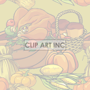 background backgrounds tiled bg thanksgiving pumpkin pumpkins   102905-fall-harvest-light backgrounds tiled