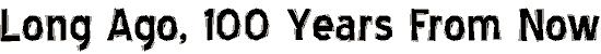 bluehigl font. Royalty-free font # 174752