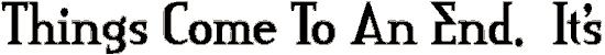 creditri font. Royalty-free font # 174769