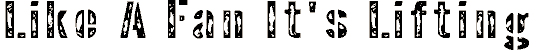 interpla font. Royalty-free font # 174826
