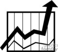 vector black white clip art vinyl-ready cutter business work chart charts graph graphs profit profits loss analyze statistics statistic