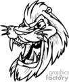 roaring lion mascot