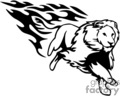 animal animals flame flames flaming fire vinyl-ready vinyl ready hot blazing blazin vector eps gif jpg png cutter signage black white cat cats lion lions