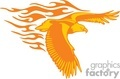 animal animals flame flames flaming fire vinyl-ready vinyl ready hot blazing blazin vector eps gif jpg png cutter signage eagle eagles flying orange gif, png, jpg, eps